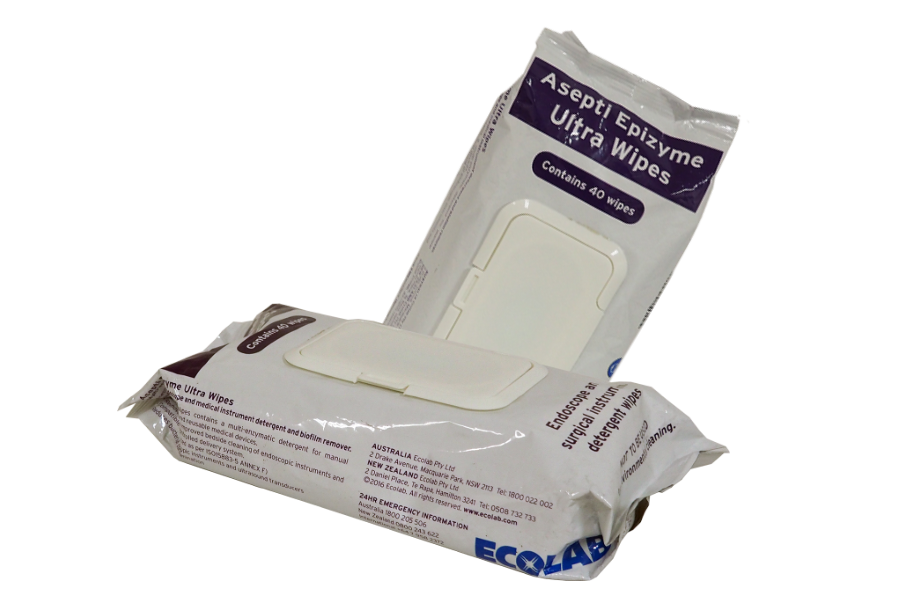 Ecolab Asepti Epizyme Wipes| Biofilm Remover